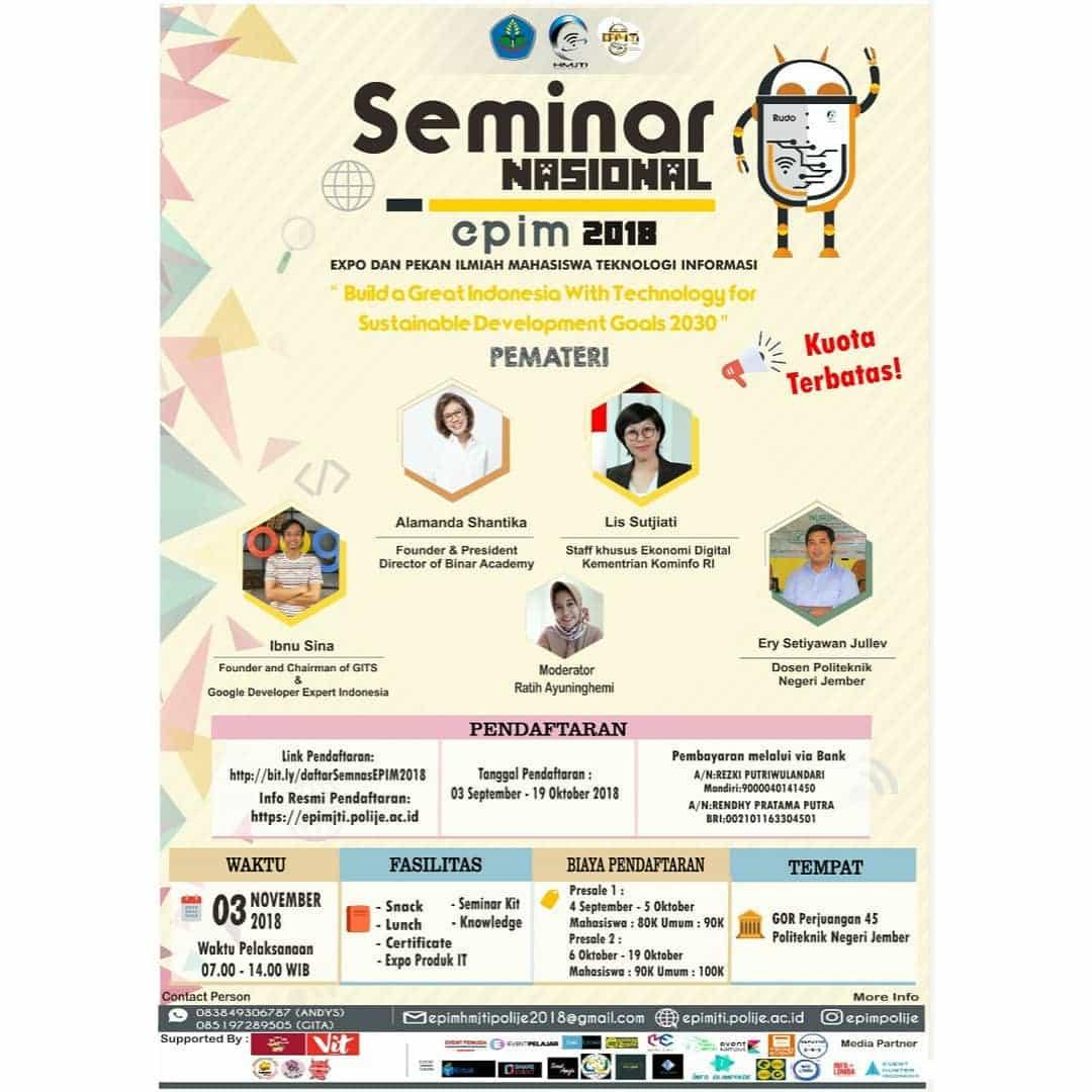 Seminar Nasional EPIM 2018 POLIJE