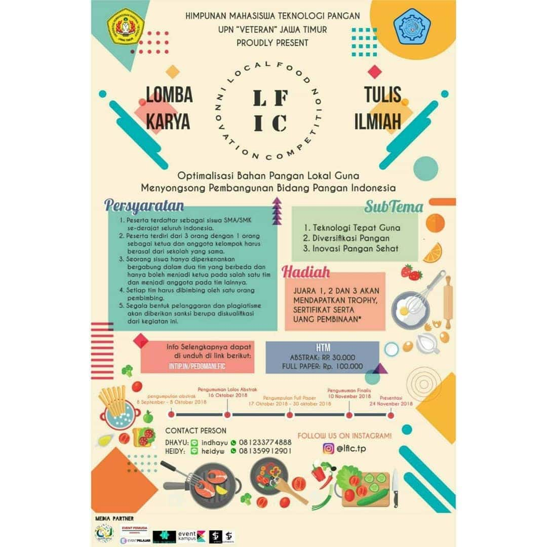 [LFIC] Local Food Innovation Competition 2018