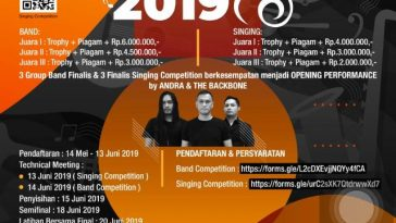 THE GADE Band & Singing Competition 2019