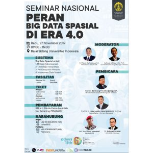 SEMINAR NASIONAL GEOGRAPHY DAYS 11TH